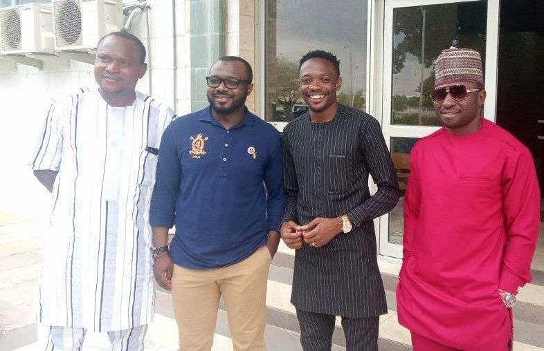 Football Superstar Ahmed Musa Visits SUN, indicates interest in Becoming the Institutions Sports Ambassador