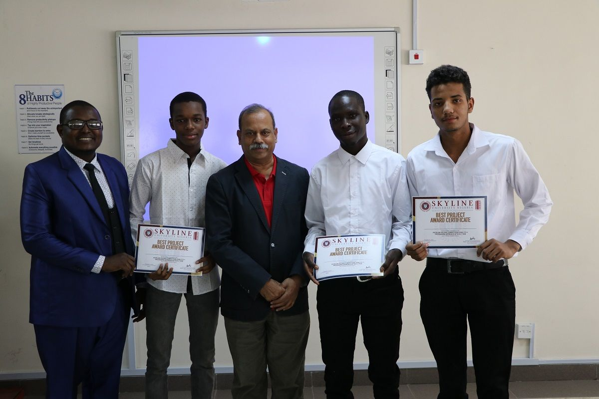 Undergraduate Students Relishes Problem Solving Competition at SUN IT Hub