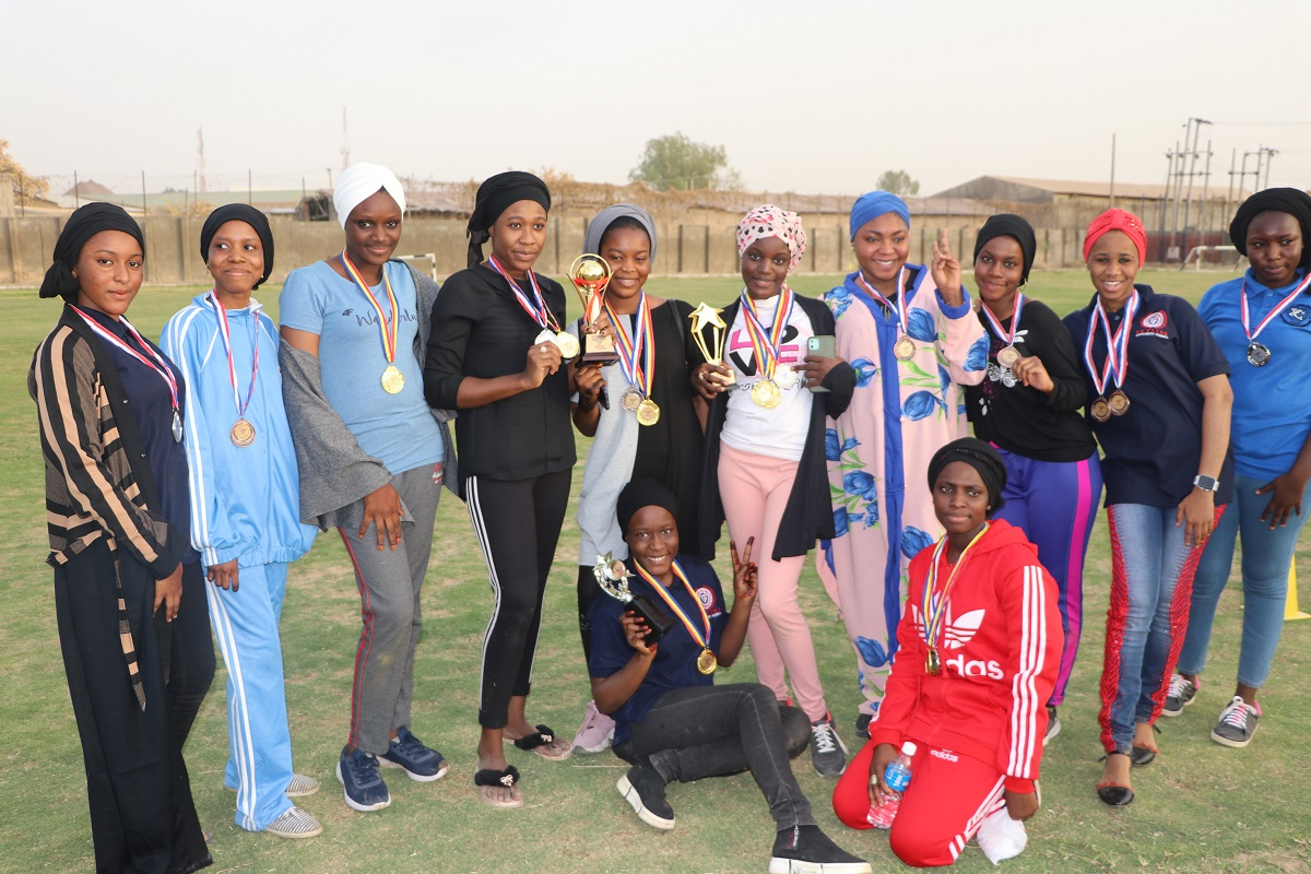 skyline-university-nigeria-clinches-first-female-sports-festival-since-inception