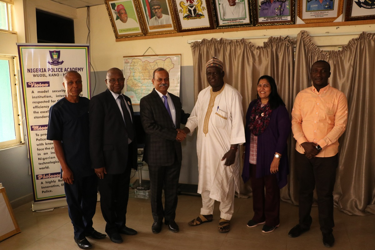 Management of Skyline University Nigeria Pays Official Visit to the Nigerian Police Academy, Wudil