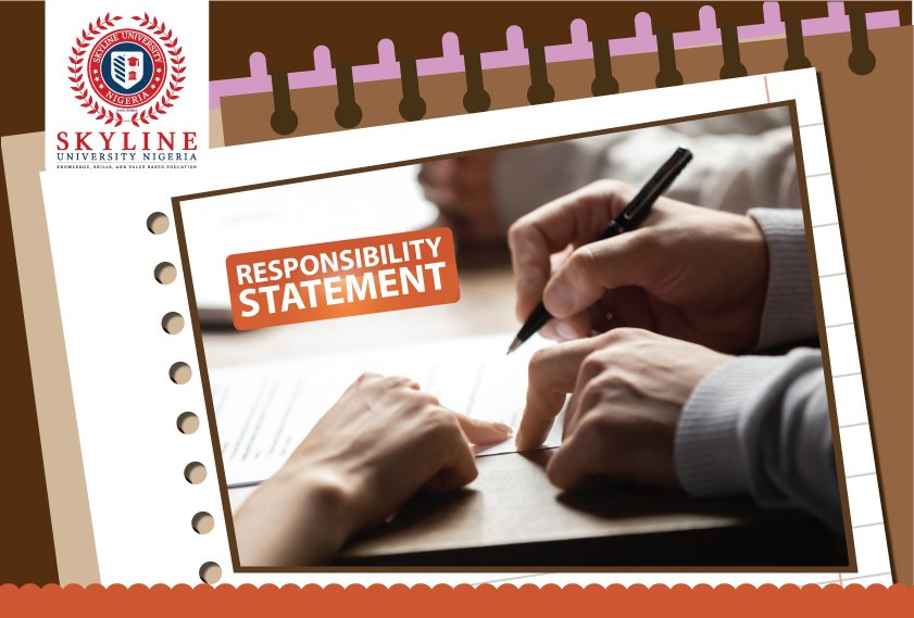 Students' Responsibility Statement