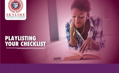 playlisting your checklist